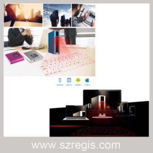 Mini Wireless Bluetooth Laser Projection Keyboard with Speaker Computer Keyboard pictures & photos