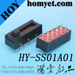 High Quality Spdt Slide Switch PCB Sliding Switches pictures & photos