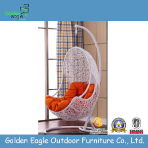 Best Sale Outdoor Furniture Rattan Swing in Garden