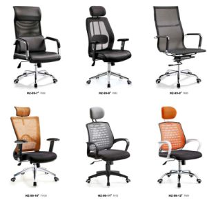 Modern Luxury Adjustable Mesh Office Chair with Steel Leg pictures & photos