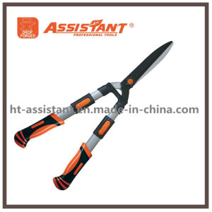 Extendable Garden Shears for Hedge Trimming with Straight Interchangeable Blade pictures & photos