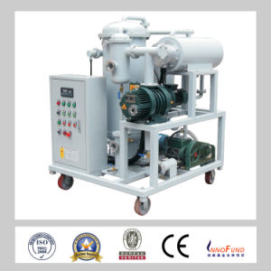 High Quality High Vacuum System Automatic PLC Industrial Transformer Oil Filtration Machines pictures & photos