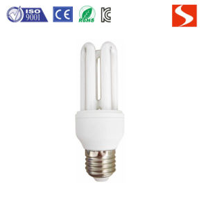 3u 15W Energy Saving Lamp, Compact Fluorescent Lamp CFL Bulbs pictures & photos