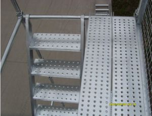 Galvanized Steel Plank for Scaffold Steel Walking Board pictures & photos