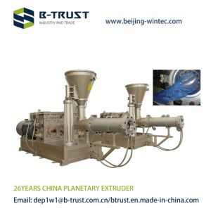 Rigid PVC Calendering Line with Planetary Extruder Machine pictures & photos