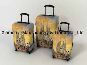 Spandex Travel Luggage Cover Fits 18-32 Inch Luggage, High Elastic, Washable, Comes in Various Printings, Trolley Cover, Germany pictures & photos