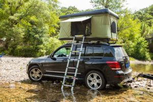 SUV Car Camping Hard Shell Roof Top Tent pictures & photos