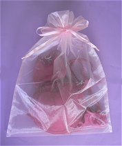 Favor Sheer Organza Pouches for Wedding & Party with Drawsting Ribbon pictures & photos
