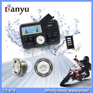 Motorcycle Alarm System Motorcycle USB MP3 Player Motorbike Accessories pictures & photos