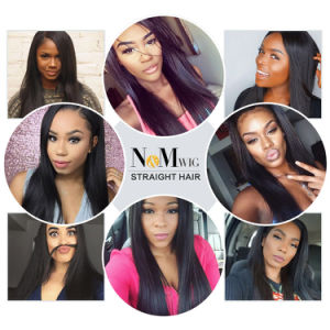 Perfect Extension Natural Black Brizilian Straight Virgin Hair pictures & photos