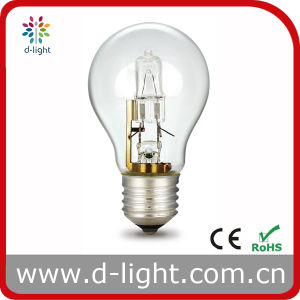 18W 28W 42W 52W 70W 100W E27 B22 Clear Frosted A55 Eco Halogen Bulb pictures & photos