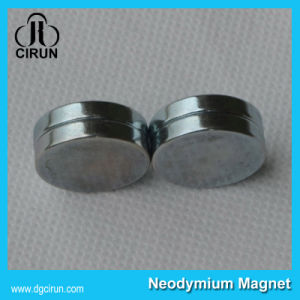 Sintered N33 N52 Disc NdFeB Magnetic Magnet with Zinc Coating for Motors