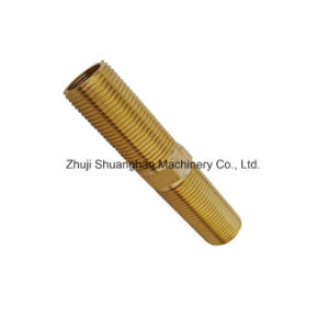 Extended Brass Male Connector pictures & photos