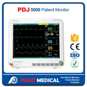 Pdj-5000 2017 Hot Sale Hospital 15.1 Inch Portable Patient Monitor pictures & photos