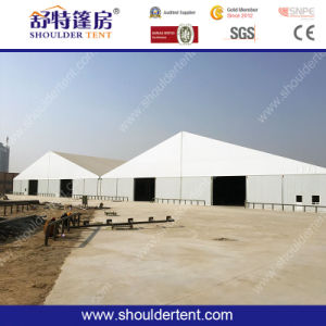 Strong Aluminum Structure Warehouse Tent with Solid Sandwich Walls pictures & photos