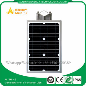 12W Integrated LED Solar Street Light for Town Parking Lot Lighting System pictures & photos