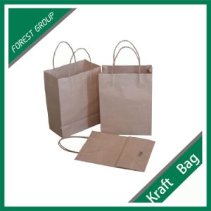 Print Kraft Paper Bag for Feed Purpose pictures & photos