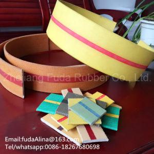 Flat Transmission Belt Brown Color pictures & photos