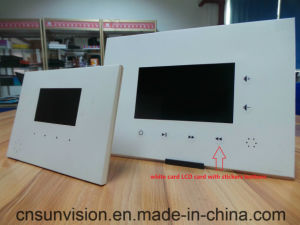 Tablet Advertising Player LCD Card Video Brochure pictures & photos