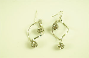 spiral Earring with Hangled Crystal Ball pictures & photos