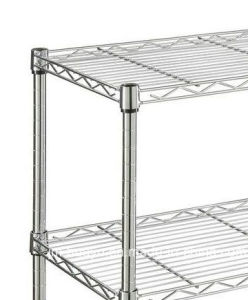 Wire Shelves, Shelving, Carts & Racks Wire Powder-Coated Vegetable and Fruit Shelf pictures & photos