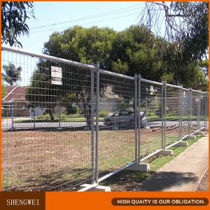 No Dig Temporary Wire Mesh Fence Manufacturer pictures & photos