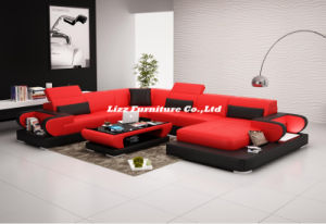 Simple Style Home Furniture Living Room Leather Sofa pictures & photos