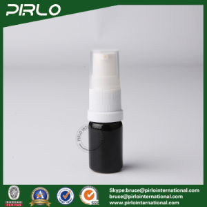 5ml Black Lightproof Glass Spray Bottles with White Fine Pump Sprayer pictures & photos