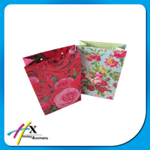 Custom Luxury Perfume Paper Packaging Bags pictures & photos