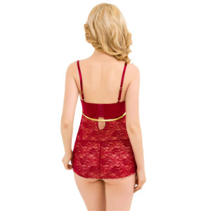 Fashion Design Wholesale Price Sexy Women Nightwear pictures & photos