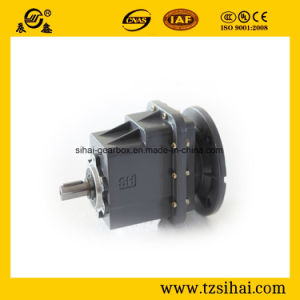 Foot Mounted Helical Gear Motor Gearbox with Helicla Gears pictures & photos