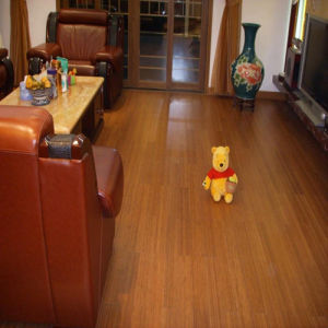 High Quality Xingli HDF Bamboo Flooring pictures & photos