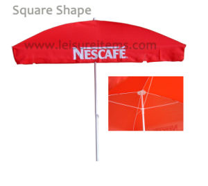 Square Beach Umbrella with 2*2 Meters (OCT-BUNC) pictures & photos