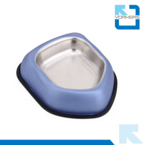 Wholesale High Quality Stainless Steel Colorful Dog Cat Food Bowl Pet Bowl pictures & photos
