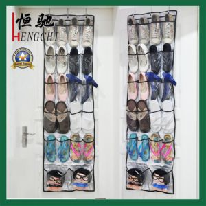 Transparent PVC Folding Fabric Wall Hanging Storage Organizer pictures & photos