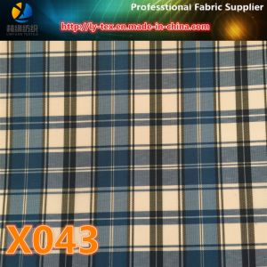 Polyester Yarn Dyed Check Fabric in Promt Goods (X041-44) pictures & photos