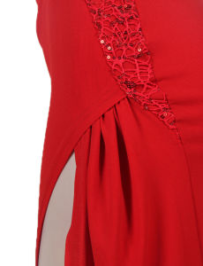 Red New Designs fashion Super Customized OEM Services Wholesale Sequined Long Prom Dresses pictures & photos