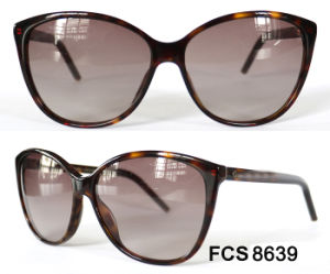 Oval Shape Full Frame Acetate with Ce Eyewear Sunglasses pictures & photos