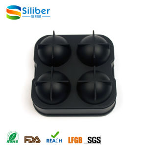 Black Flexible Silicone Ice Ball Spheres Maker Mold pictures & photos