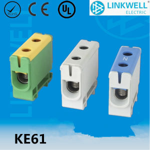 Polyamide PA66 DIN Rail Mounting Cable Terminal Connector 1914104 pictures & photos