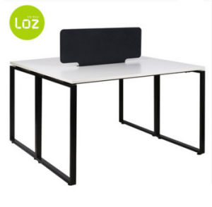 High Quality Steel Frame Table Leg Factory Economical Modular 2 Seater Office Workstaiton pictures & photos