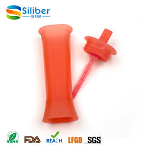 Amazon Hot Selling BPA Free Silicone Popsicle Ice Pop Molds pictures & photos