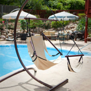 Metal Folding Garden Hammock Chair pictures & photos
