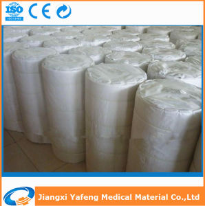 Ce ISO Certificated Cotton 90cmx90m Medical Gauze Roll/ Absorbent Gauze pictures & photos