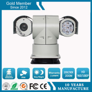 20X 2.0MP 100m Night Vision Police Car HD Network IR PTZ Surveillance Camera (SHJ-HD-TA) pictures & photos