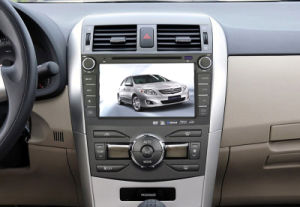 Quad Core 2 DIN Capacitive Touch Screen Car Navigation with Bt/iPod/3G/Vmcd/FM/Am for 2011 Corolla pictures & photos