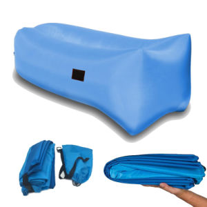 One Open Nylon with PVC or PU Coating Inflatable Air Bag Sleeping Bed pictures & photos