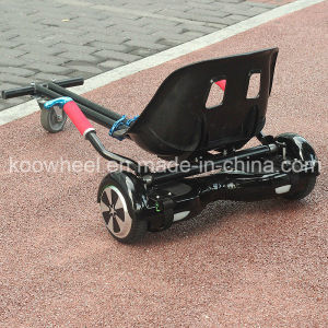 Adjustable Seat Hoverkart for Two Wheels Self Balance Scooter Hoverboard Go Kart pictures & photos