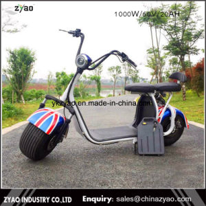Citycoco 1500W with Front and Rear Shock Suspension Electric Scooter Battery Removable pictures & photos