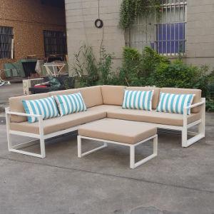 Outdoor Hotel Sofa Wicker Patio Garden Chair Furniture Modern Adjustable Aluminum Sofa Set pictures & photos